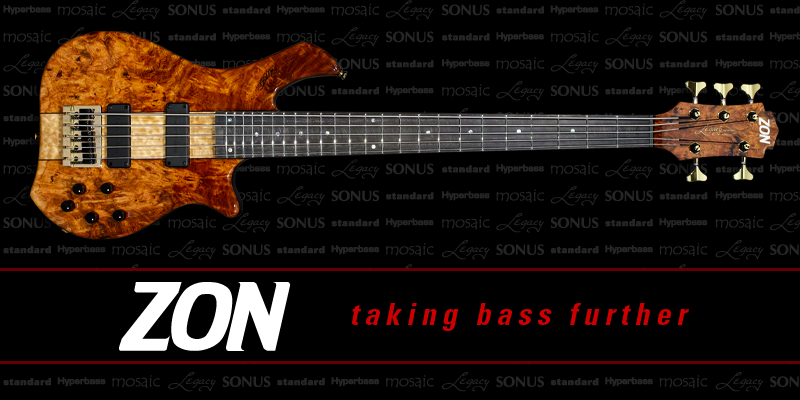 Zon Guitars - Taking Bass Further