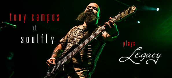 Please welcome Tony Campos from SOULFLY to the ZON family!!!